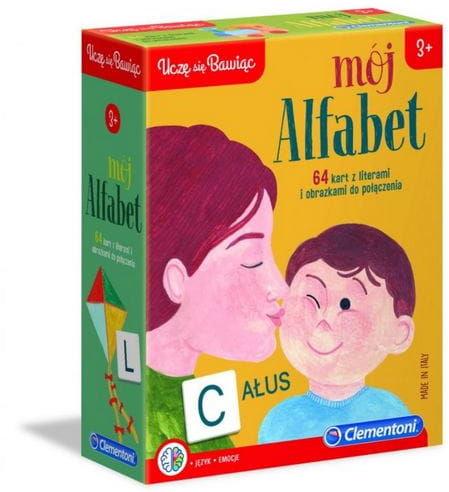 Gra mój alfabet 3+ uczę się bawiąc