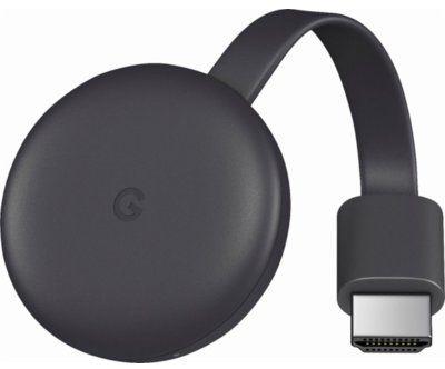 Transmiter TV GOOGLE Chromecast 3.0 Czarny RATY 0% I PÓŁ ROKU NIE PŁACISZ Raty 0%! DARMOWY TRANSPORT!
