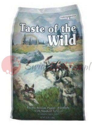 Taste of the Wild Pacific Stream Puppy karma dla szczeniąt z łososiem 2kg
