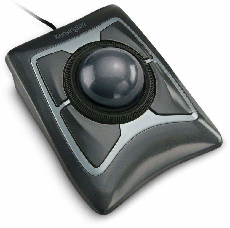 Kensington Expert Mouse mysz bezprzewodowa z piłką do trackball, kompatybilna z Windows i macOS, 64325, czarna