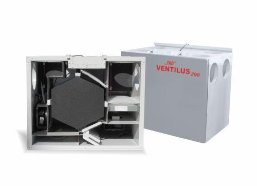Rekuperatory VENTILUS 290 SE HR Q1