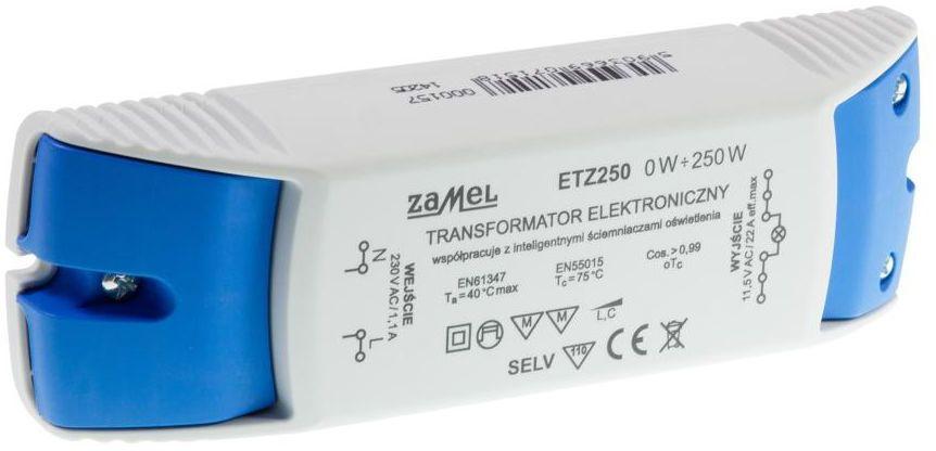 Transformator elektroniczny ETZ250 0-250 W ZAMEL