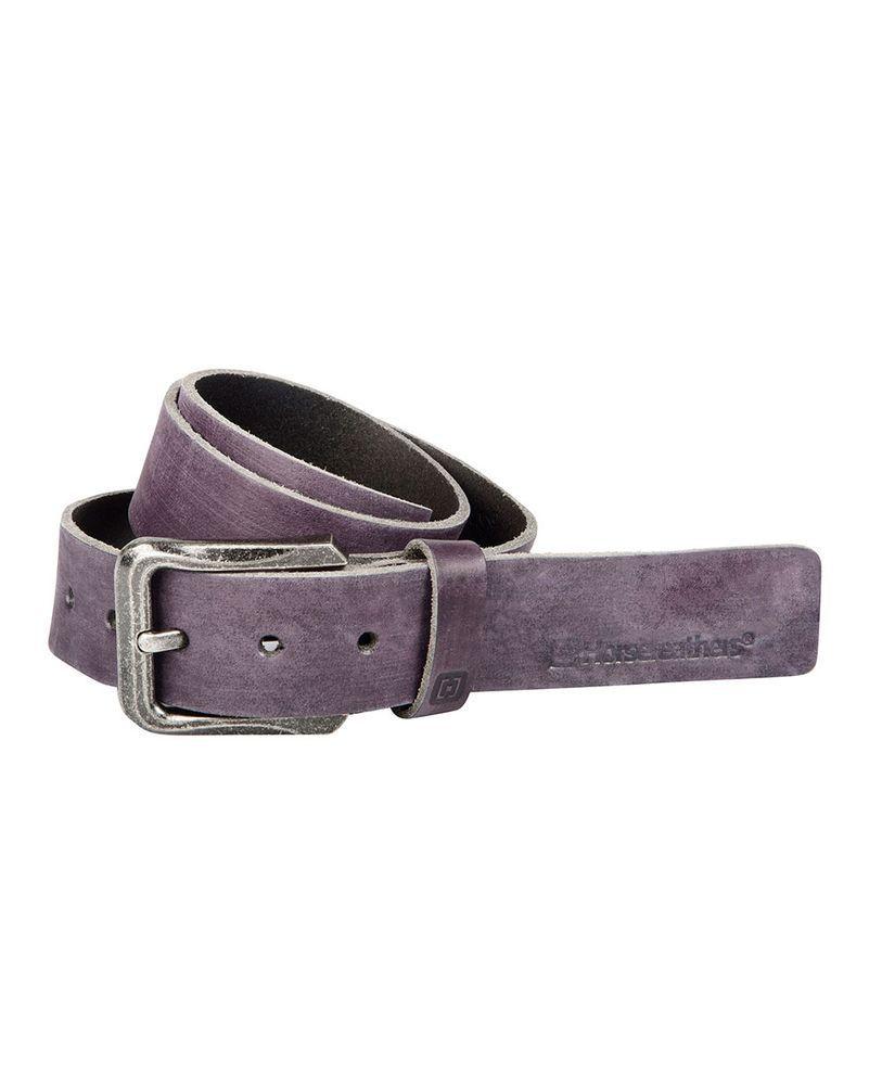 pasek damski HORSEFEATHERS NEDDY BELT (purple)