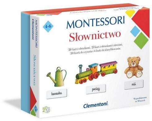 Clementoni MONTESSORI SŁOWNICTWO