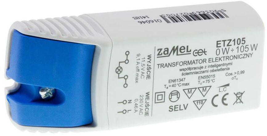 Transformator elektroniczny ETZ105 0-105 W ZAMEL