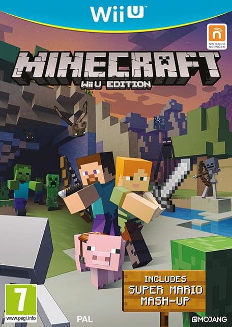 Gra Minecraft (Nintendo WiiU)