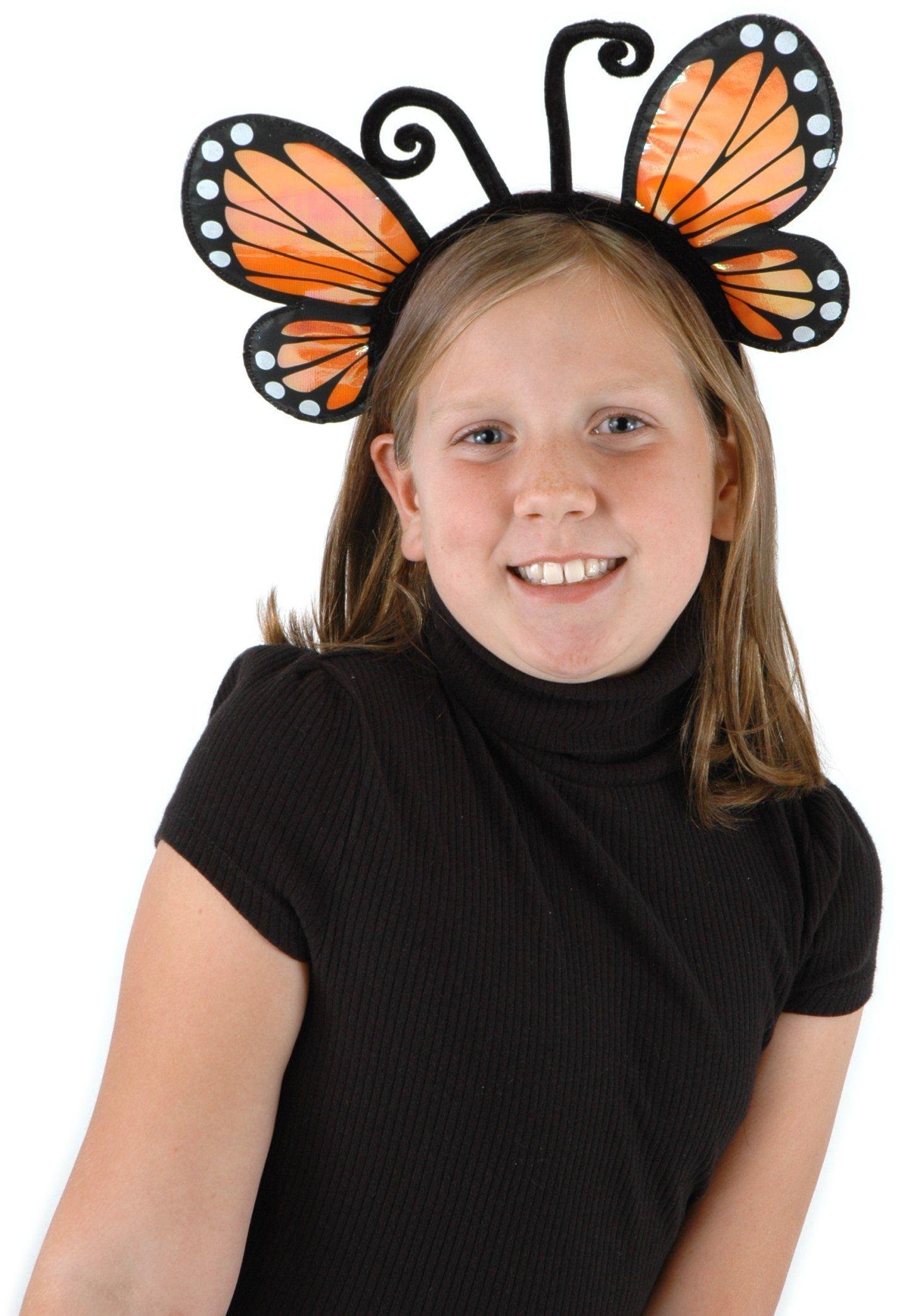 Elope H2693, akcesoria kostiumowe, głowica szklarni, złoty motyl