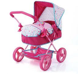 My Little Pony D86478 wózek dla lalek Gini, różowy/różowy