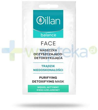 Oillan Balance Face maseczka oczyszczająco-detoksykująca 2 x 5 ml