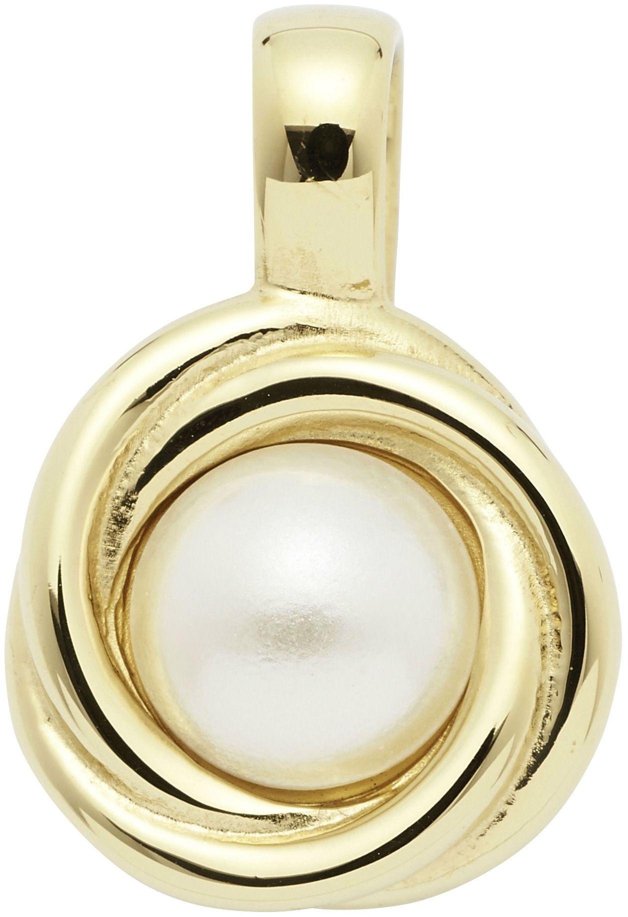 Zawieszka magnetycznea 2721-1 pozłacana z imitacją perły