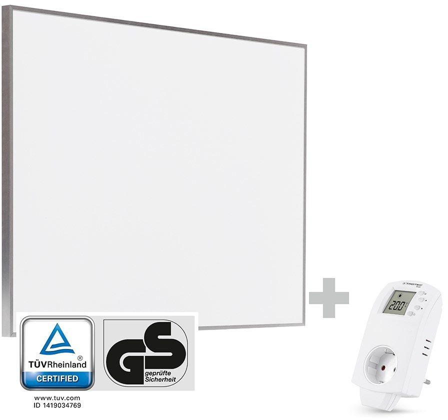 Płytowy promiennik podczerwieni TIH 500 S + termostat gniazdkowy BN30