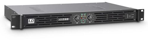 LD Systems XS 700 końcówka mocy PA klasy D, 2 x 350 W, 4Ohm