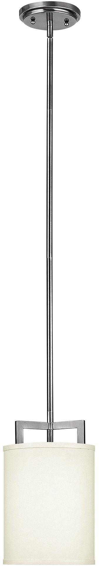 Hampton lampa wisząca srebrna HK-HAMPTON-P-A - Hinkley // Rabaty w koszyku i darmowa dostawa od 299zł !