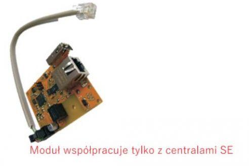 Moduł internetowy Control SE -montowany na płycie