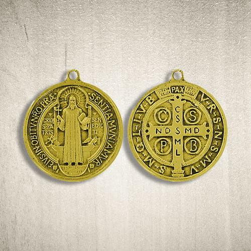 Medalik Św. Benedykta 21 mm