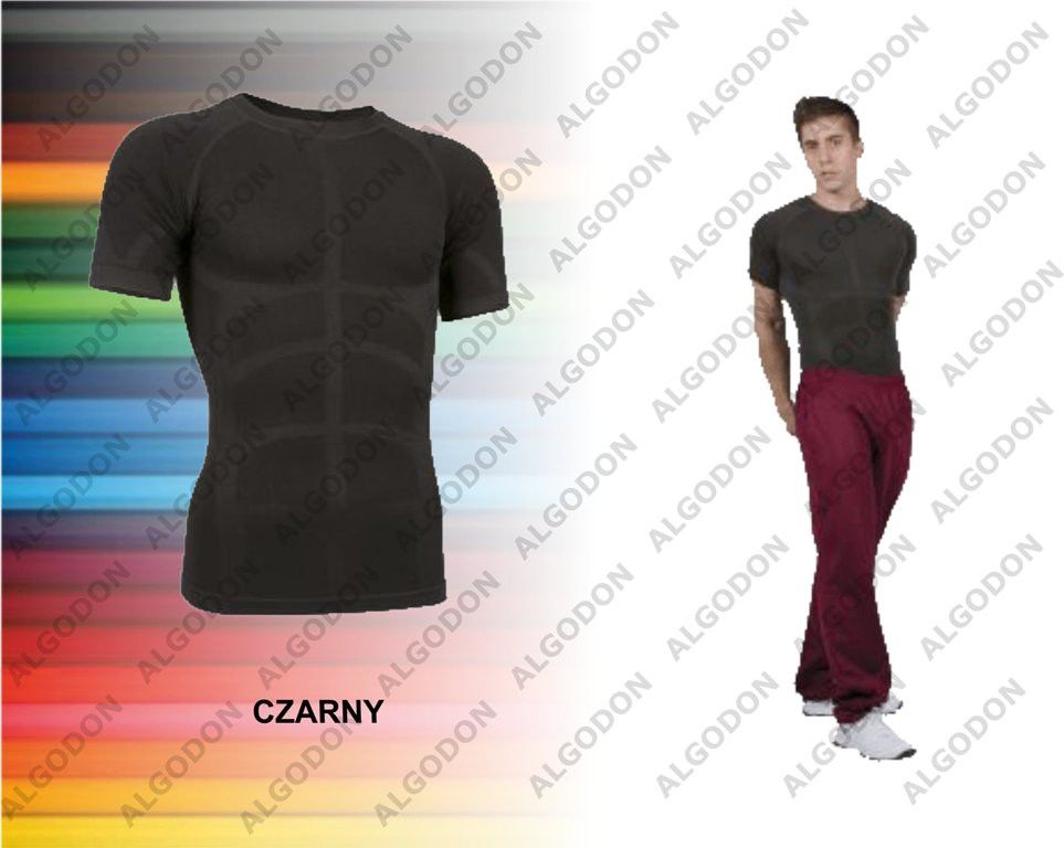 Koszulka oddychająca, termoaktywna, druga skóra second skin krótki rękaw S-2XL COLDASY bielizna termiczna