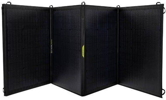 Goal Zero Nomad 200 - mobilny, elastyczny i składany panel solarny o dużej mocy.