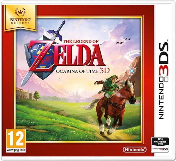 Gra The Legend of Zelda: Ocarina of Time Selects (Nintendo 3DS)