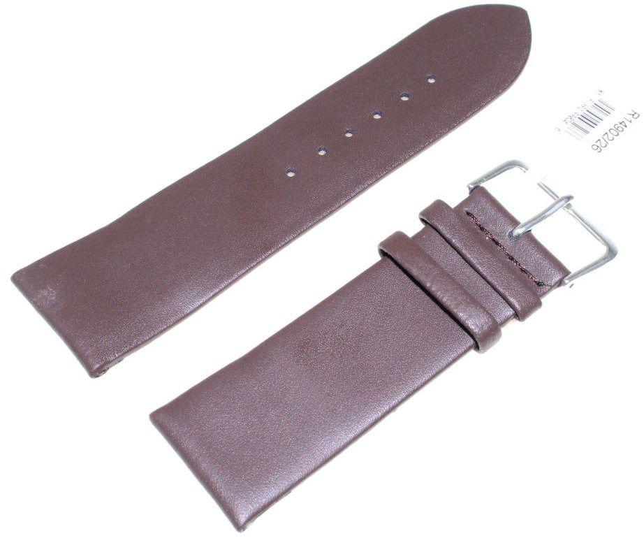 Skórzany pasek do zegarka 26 mm JVD R14902-26