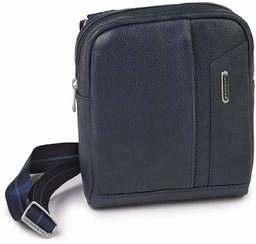 Roncato Panama Dlx torba na ramię, 21 cm, niebieska (czerwona)