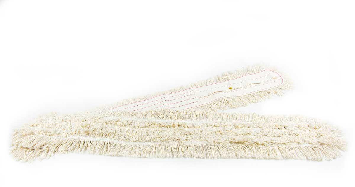TTS wkład bawełniany do mopa nożycowego 2 x 100 cm do sprzątania na mokro