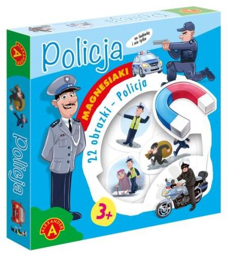Magnesiaki Policja ZAKŁADKA DO KSIĄŻEK GRATIS DO KAŻDEGO ZAMÓWIENIA