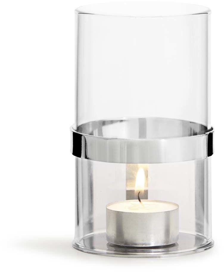 Lampion na tealight (srebrny) Interior Sagaform