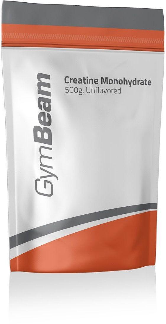 GymBeam Kreatyna 100% Monohydrat 500 g zielone jabłko