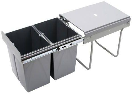 Wysuwany segregator odpadów 40, 2x20L (JC602M)