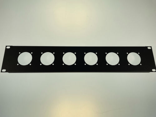 Amex 230-6 panel 2U, 6x230V
