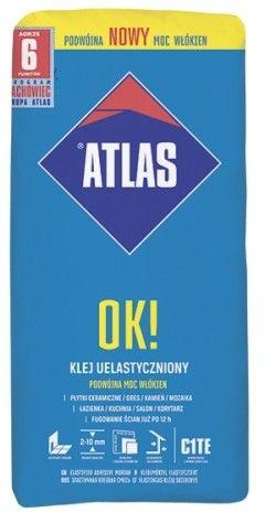Klej uelastyczniony 25 kg OK! ATLAS