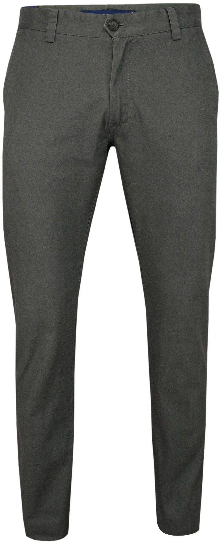 Szare, Popielate Bawełniane Spodnie Męskie, CHINOSY -CHIAO- Casualowe, Stylowe SPCHIAOM5B03popiel