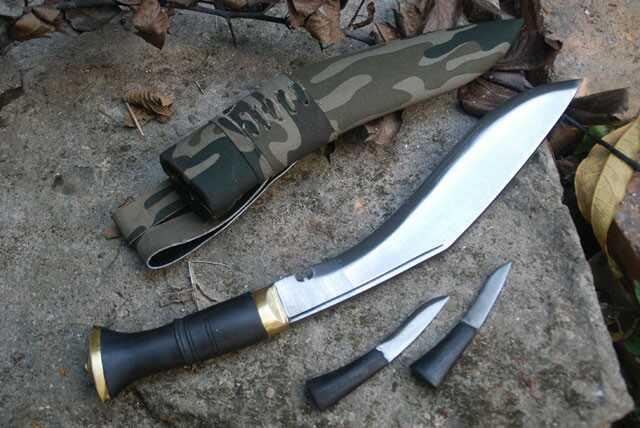 Nóż Gurkhów khukri taktyczny NKH-GACI-09
