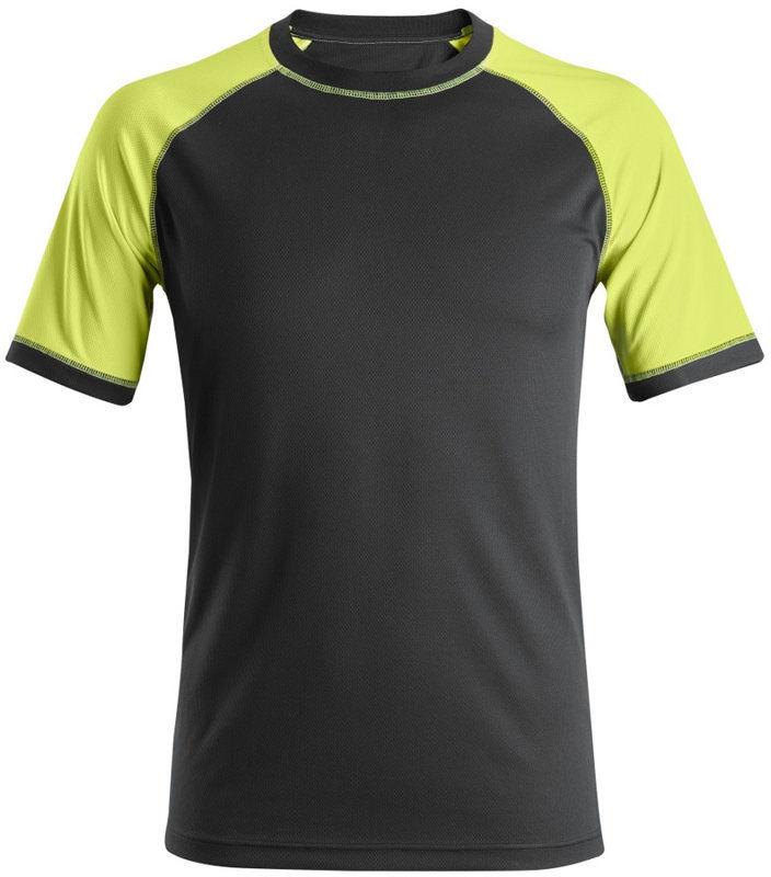 2505 T-shirt neonowy Snickers Workwear