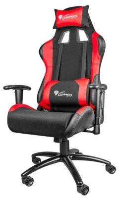 Fotel dla gracza GENESIS Nitro 550 Czerwony. > DARMOWA DOSTAWA ODBIÓR W 29 MIN DOGODNE RATY