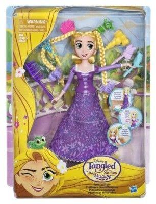 Hasbro Disney Princess - Lalka Szalone fryzury Roszpunka C1748