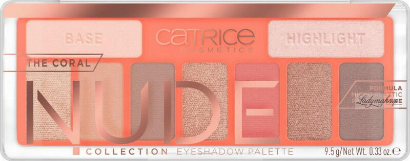 Catrice - THE CORAL NUDE COLLECTION EYESHADOW PALETTE - Paleta 9 cieni do powiek - 010 Peach Passion