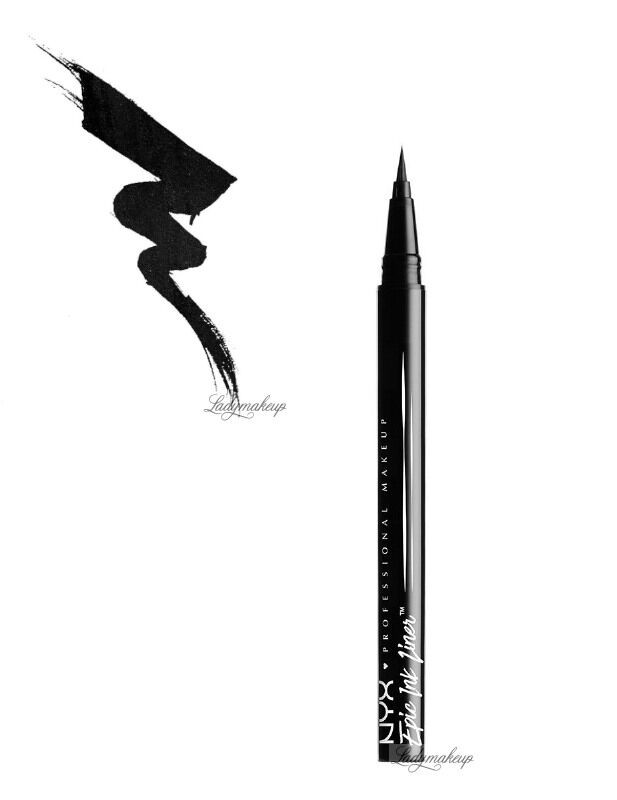 NYX Professional Makeup - Epic Ink Liner - Wodoodporny eyeliner w pisaku - BLACK