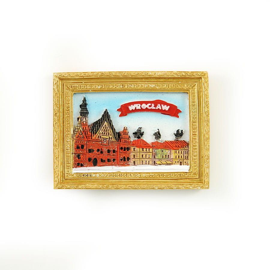 Magnes obraz złota rama Wrocław Rynek