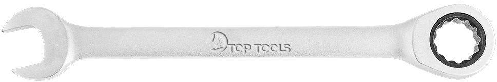 Klucz płasko-oczkowy z grzechotką, 13 mm