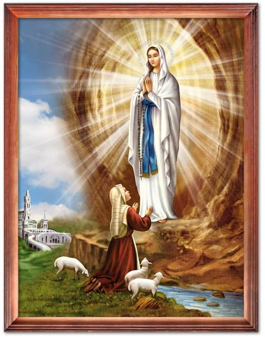 Obraz Matka Boża z Lourdes