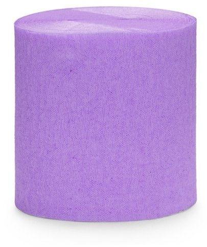 Krepa dekoracyjna liliowa 5cm 10m 4 szt. KREP1-004
