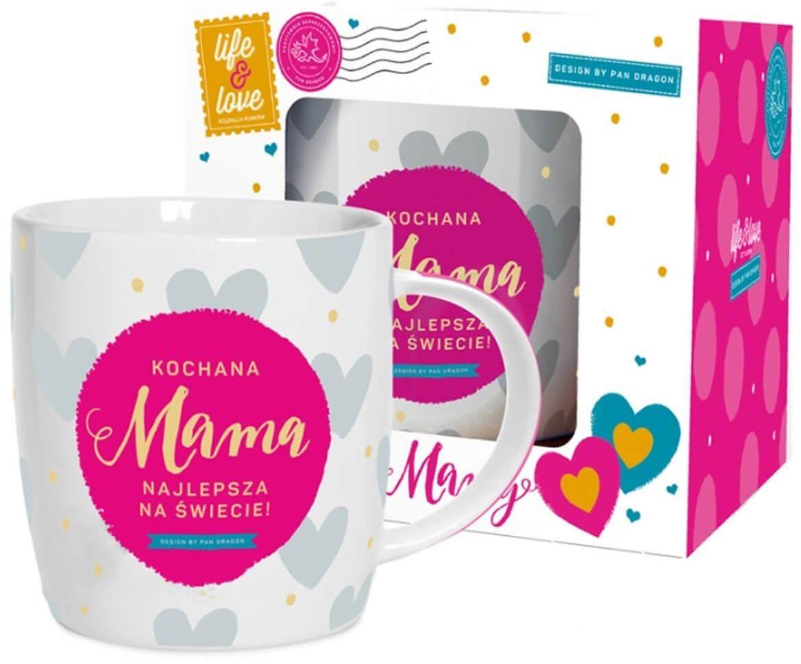 Kubek ceramiczny z napisem Kochana Mama