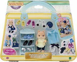 Sylvanian Families 5541 modny zestaw do zabawy - kolekcja sklepu z butami - - zestawy do zabawy dla lalek