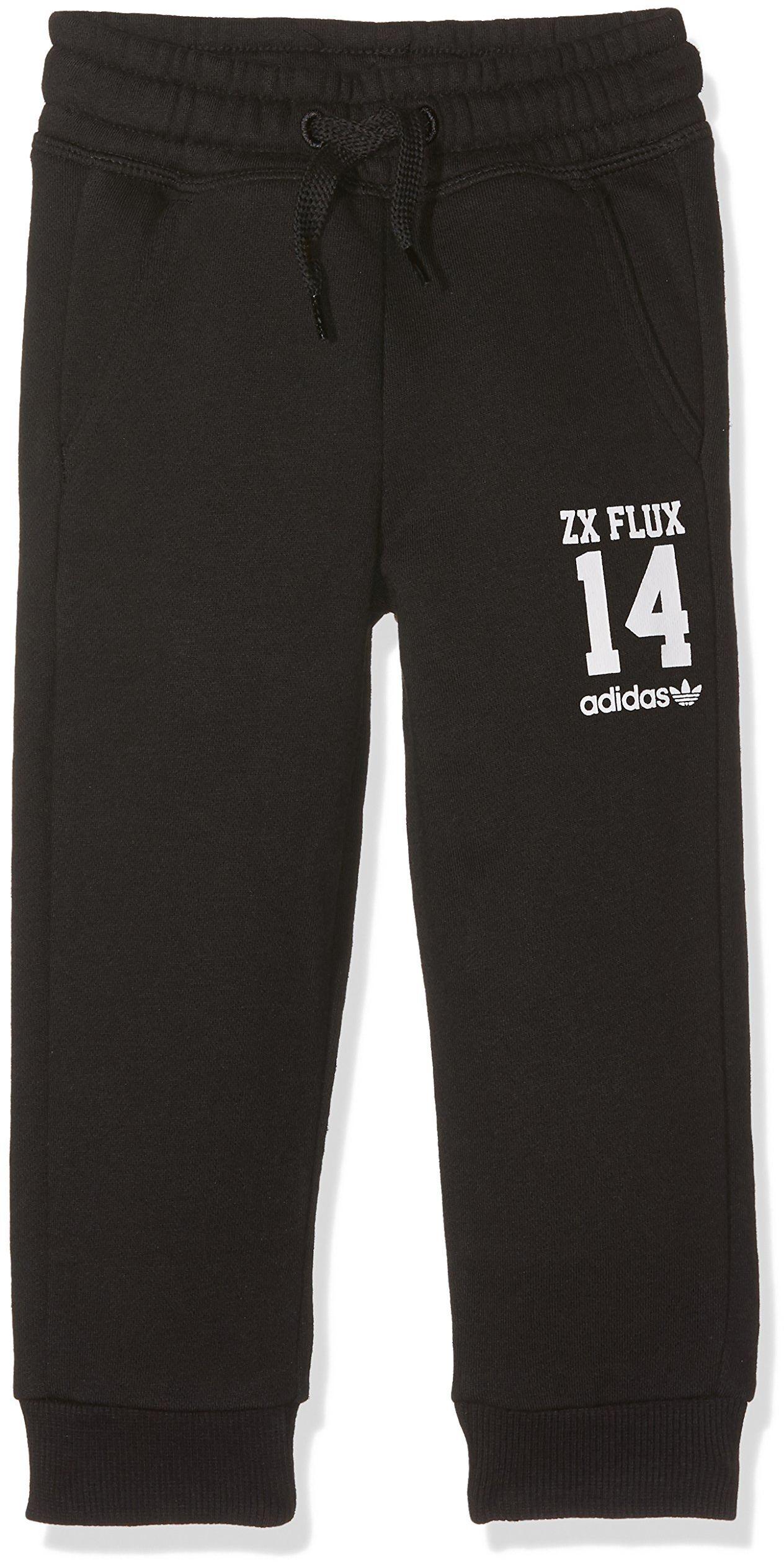 adidas dziecięce spodnie treningowe Essentials Crew spodnie i legginsy, czarno-białe, 116