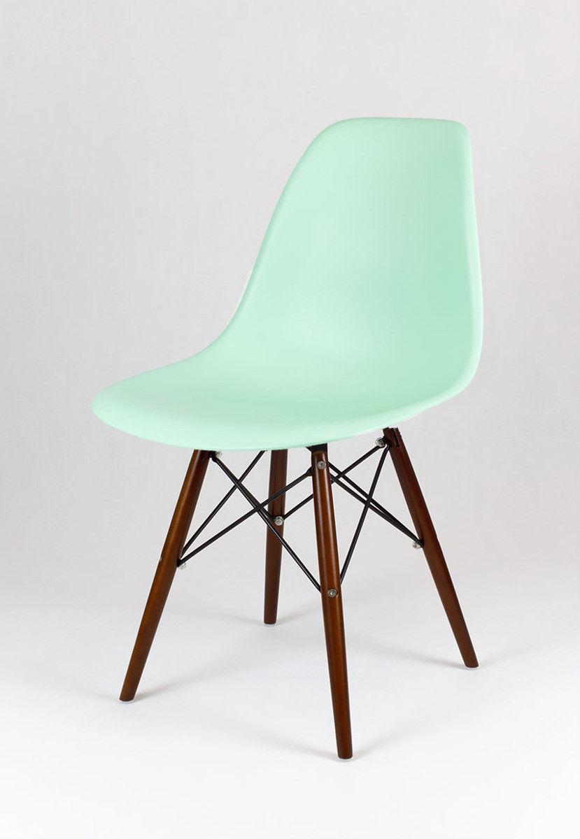 Sk Design Kr012 Pistacjowe Krzesło Wenge