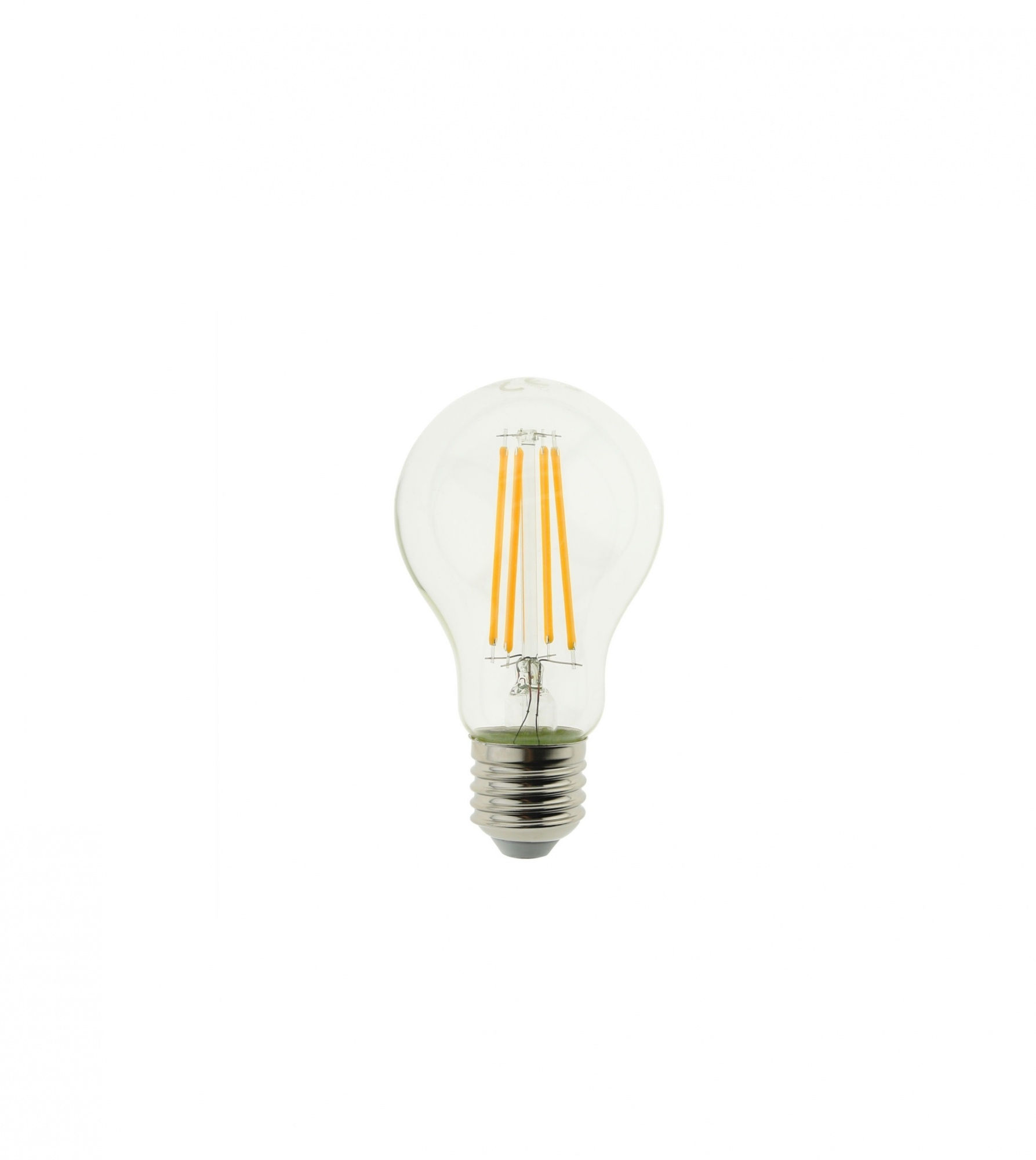 Żarówka LED E27 8W 2300K ST64 Filament Amber Glass Ściemnialna BLAUPUNKT