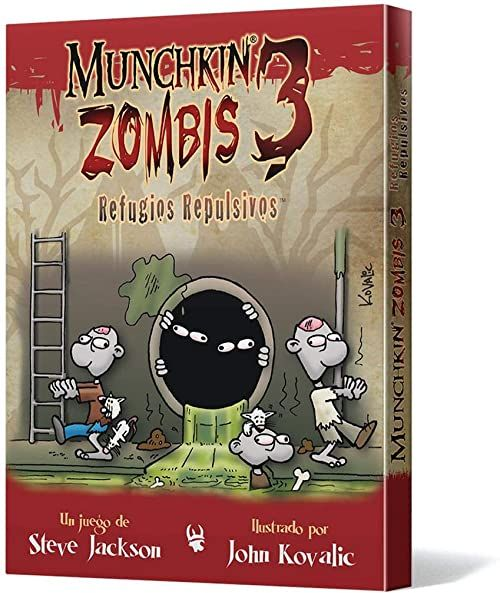 Edge Studio  Munchkin Zombies 3: strzeleckie repulsywne (eesjmz03)