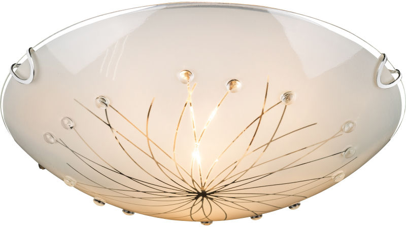 Globo CALIMERO I 40402-2 plafon lampa sufitowa chrom 2xE27 30cm