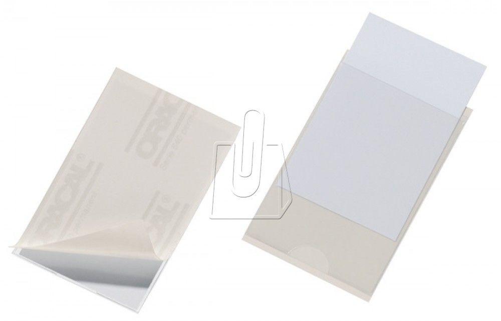 Samoprzylepna kieszonka na wizytówki POCKETFIX 93x62mm 100 sztuk 8379 19